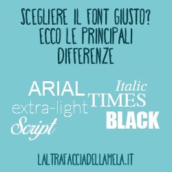 Le caratteristiche principali di un font